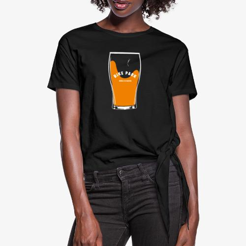Beer Bike Park - T-shirt à nœud