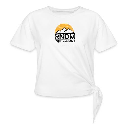 RndmULTRArunners T-shirt - Women's Knotted T-Shirt