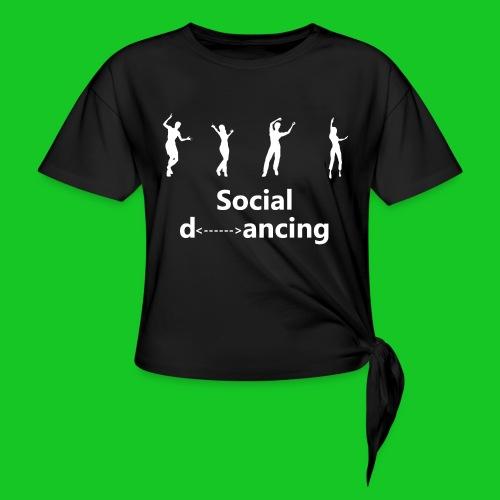 Social dancing - Vrouwen Geknoopt shirt