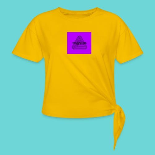 2018 logo - Women's Knotted T-Shirt