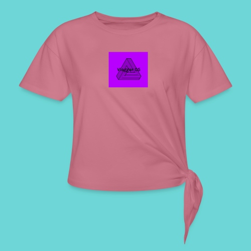 2018 logo - Women's Knotted T-Shirt