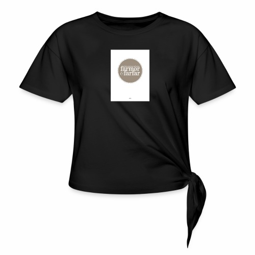 7597DD73 DF61 436F 9725 D1F86B5C2813 - T-shirt med knut dam