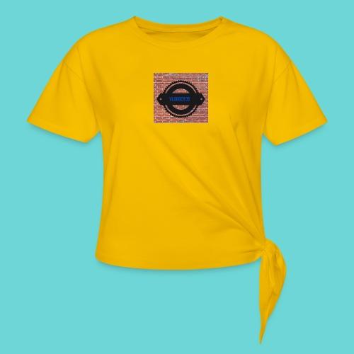 Brick t-shirt - Women's Knotted T-Shirt
