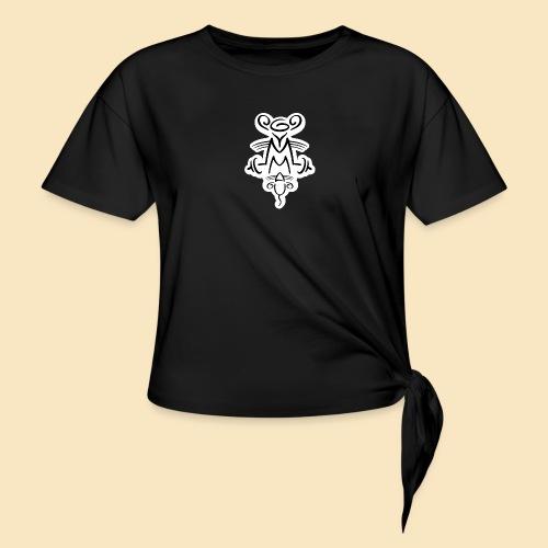 Gymmaus on black - Knotenshirt