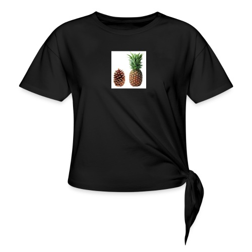 Pineapple - Knotted T-Shirt