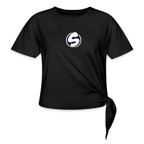 SilkyFX logo - Geknoopt shirt