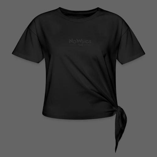 NoWings_Fam - Frauen Knotenshirt