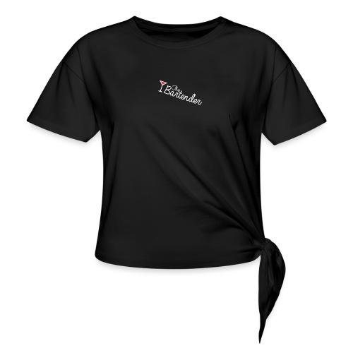 the bartender logo - Maglietta annodata