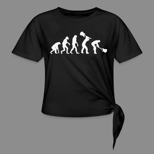 Evolution Rock - Camiseta con nudo