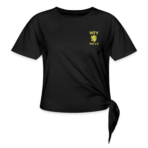 WFV Logo vorn und hinten - Frauen Knotenshirt