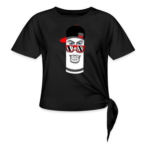 bullet - Camiseta con nudo mujer