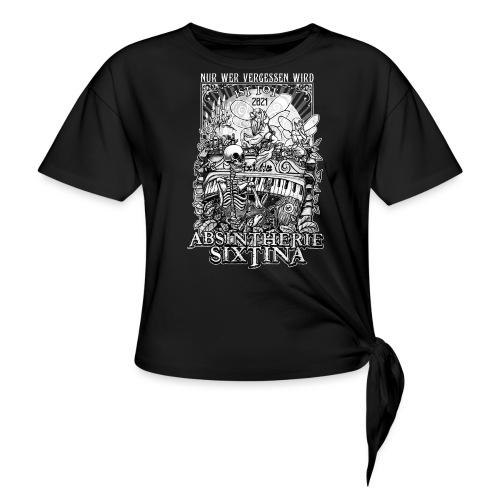 Absintherie Sixtina 2021 - Sixtina Support - Frauen Knotenshirt