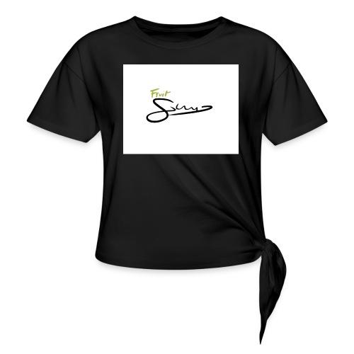 Fruit GUN Vainilla Collection - Camiseta con nudo mujer