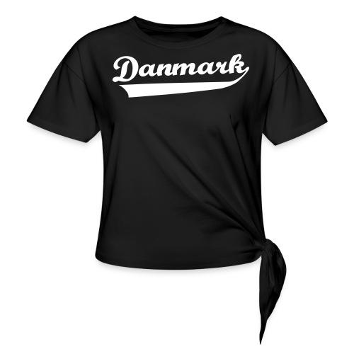 Danmark Swish - Dame knot-shirt