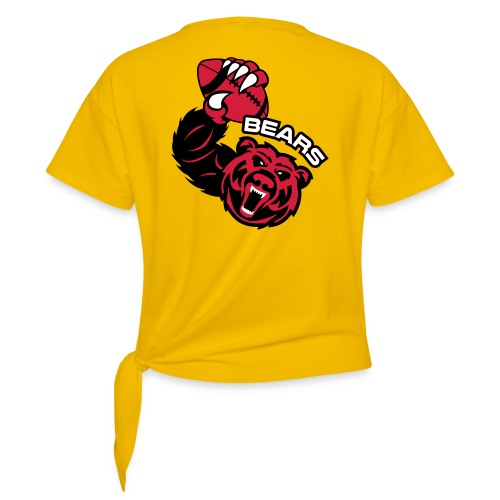 Bears Rugby - T-shirt à nœud Femme