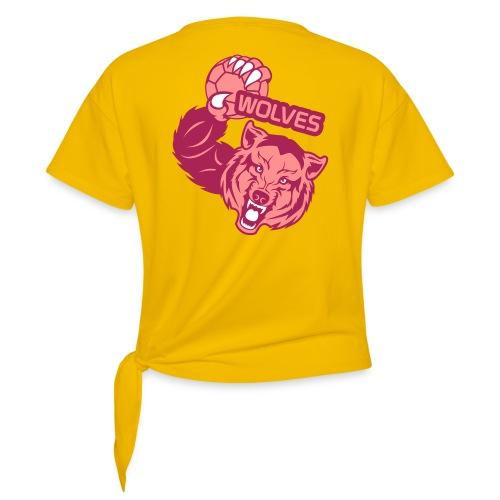 Wolves Handball - T-shirt à nœud Femme
