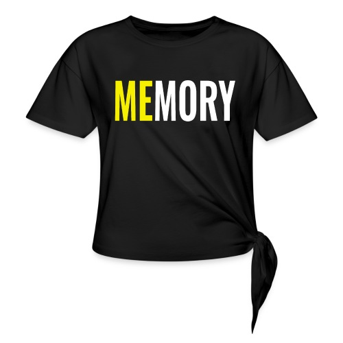 Memory - Knotted T-Shirt