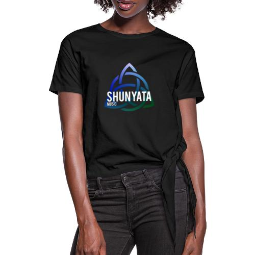 SHUNYATA music Logo 3 - Frauen Knotenshirt
