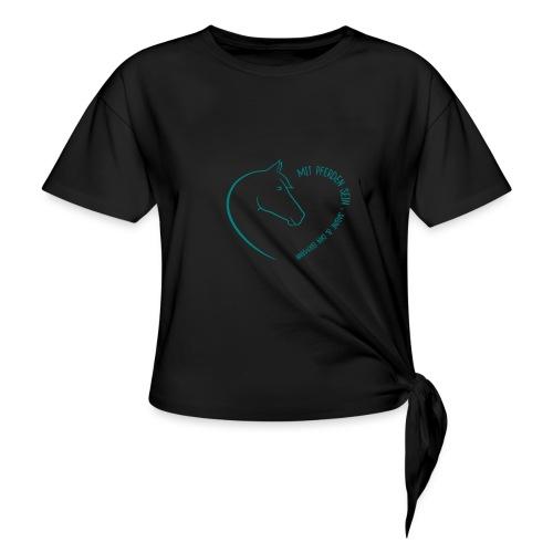 Coeur Closeness - Frauen Knotenshirt
