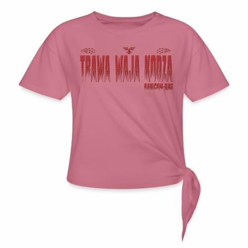 KNG RN - T-shirt à nœud Femme