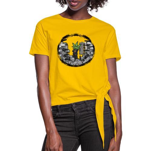 Tresor - Frauen Knotenshirt