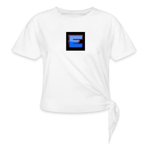 Epic Offical T-Shirt Black Colour Only for 15.49 - Women's Knotted T-Shirt