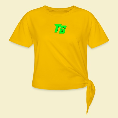 TristanGames logo merchandise - Geknoopt shirt