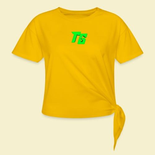 TristanGames logo merchandise - Vrouwen Geknoopt shirt