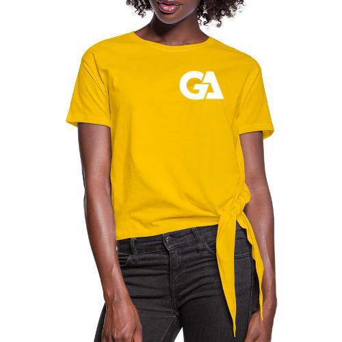 Gaming Alliance Wit - Vrouwen Geknoopt shirt