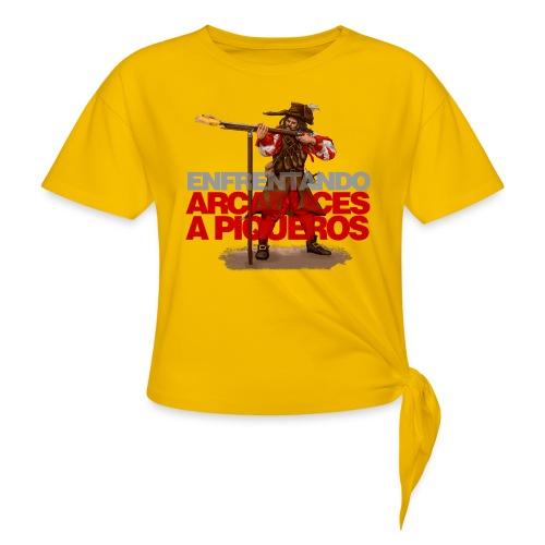 Arcabucero de los Tercios Españoles - Camiseta con nudo mujer