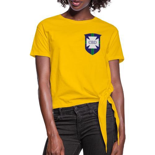 Mondiali di calcio 1970 celebrativa Brasile - Maglietta annodata da donna