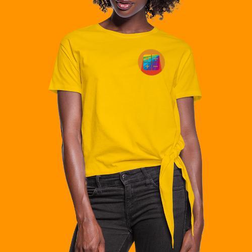 Matemáticas Sin Más Rainbow - Camiseta con nudo mujer