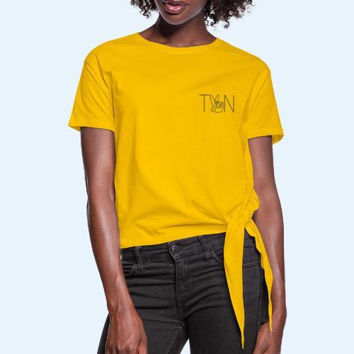 LOGOBRO - Women's Knotted T-Shirt