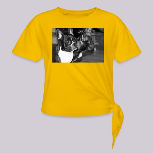 Frenchies - Knotted T-Shirt