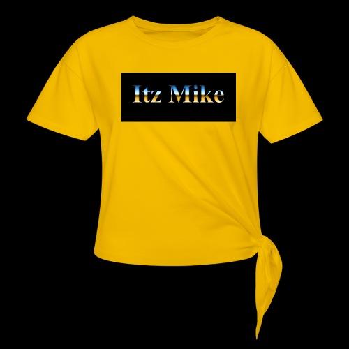 Itz Mike Merch - Women's Knotted T-Shirt