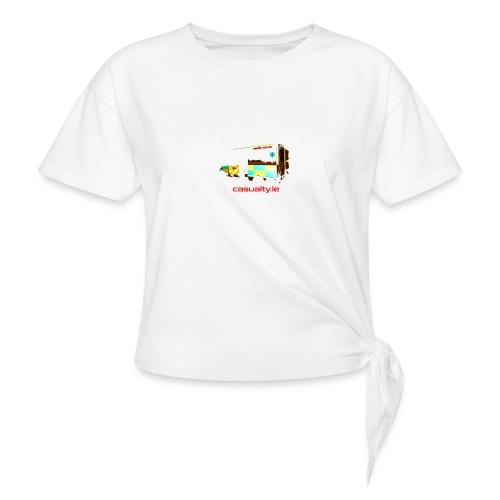 maerch print ambulance - Knotted T-Shirt