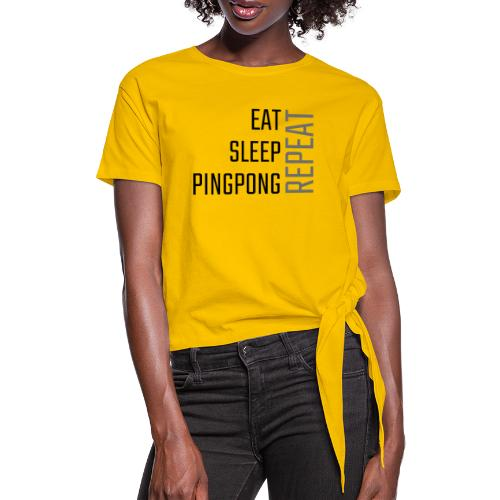 PingPong Repeat - Dame knot-shirt