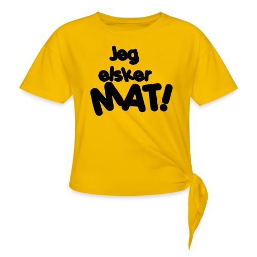 Jeg elsker mat - Knute-T-skjorte