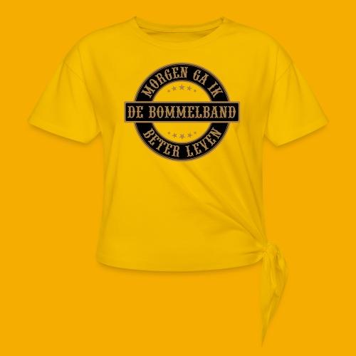 bb logo rond shirt - Vrouwen Geknoopt shirt