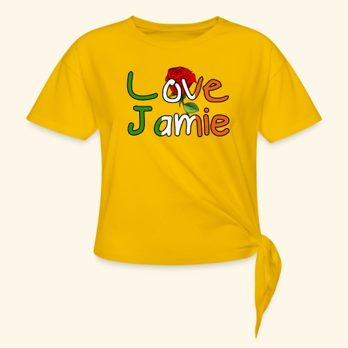Jlove - Women's Knotted T-Shirt