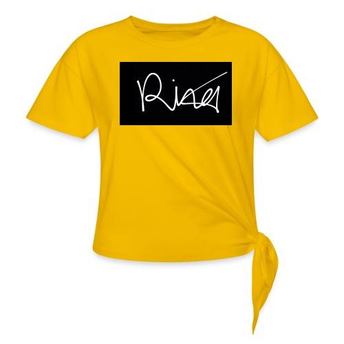 Autogramm - Frauen Knotenshirt