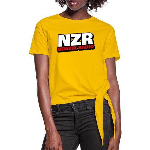 NZR - T-shirt à nœud Femme