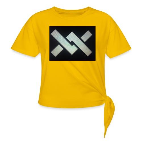Original Movement Mens black t-shirt - Knotted T-Shirt