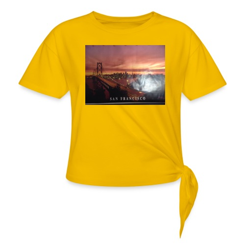 Geillllllloooooo - Frauen Knotenshirt