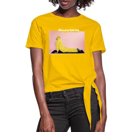 #joga2020 - Frauen Knotenshirt