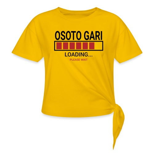 O Soto Gari Loading.... Pleas Wait - Koszulka z wiązaniem