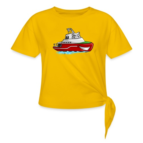 Boaty McBoatface - Women's Knotted T-Shirt