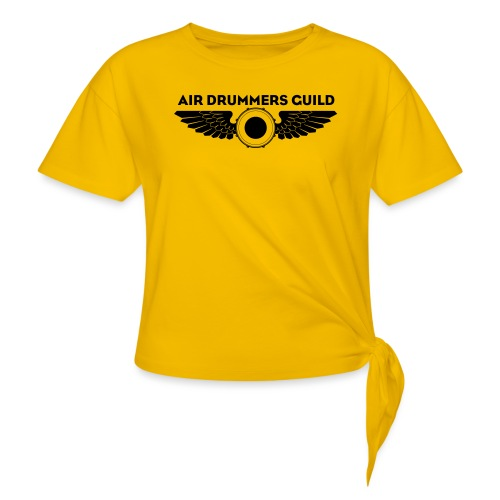 ADG Drum'n'Wings Emblem - Women's Knotted T-Shirt