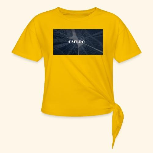 COPERTINA ALBUM OSCURO - Maglietta annodata da donna