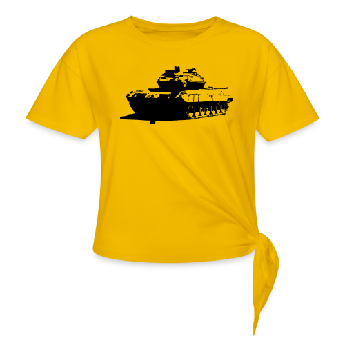 Leopard 2 Kampfpanzer - Stridsvagn 122 - T-shirt med knut